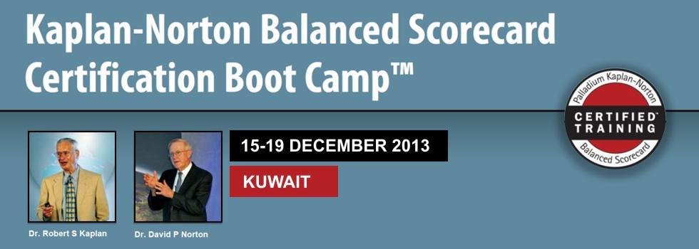 Kaplan Norton Bootcamp in kuwait